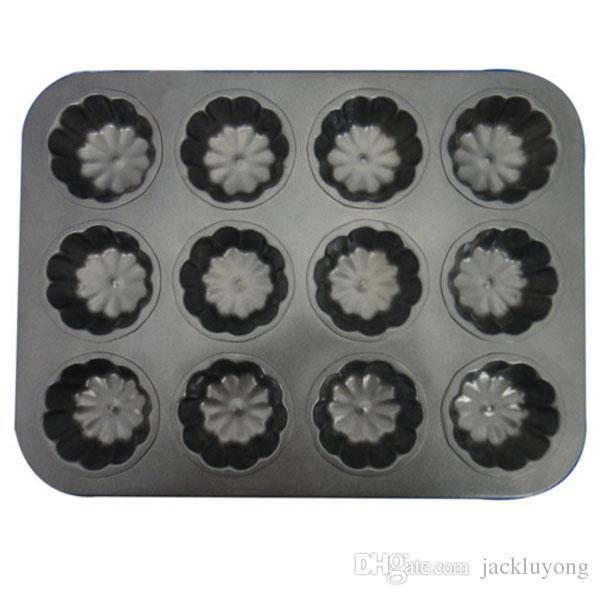 Small Cupcake Pan / 12-Cup Muffin Pan , Nonstick Carbon Steel Muffin Mold Pan, Cupcake Baking Pans / Muffin Trays