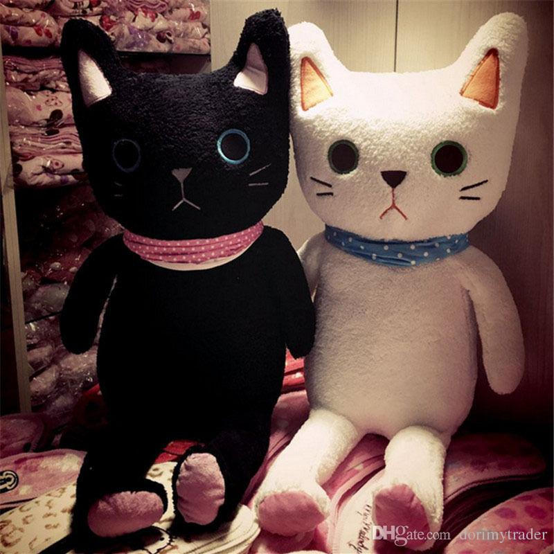 2019 Dorimytrader Quality Kawaii Animals Cat Plush Toys Soft Cuddly