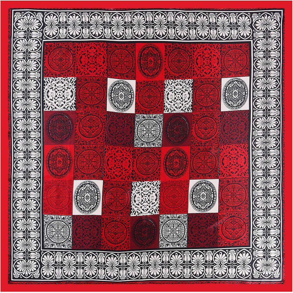 05a041a49130b 2018 Ethnic Silk Square Women Print Tartan Plaid Scarf Brand Shawl ...
