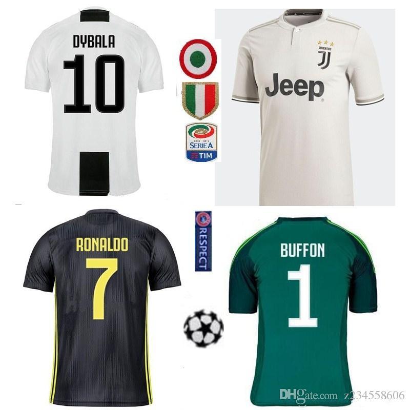 72be872db 2019 New 2019 Juventus Home Soccer Jersey 18 19  7 RONALDO DYBALA Soccer  Shirt MARCHISIO MANDZUKIC PJANIC HIGUAIN Football Uniform Sales From  Z234558606