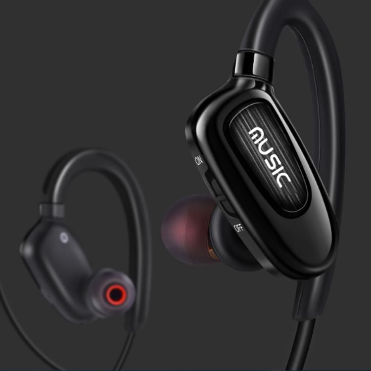 Беспроводная спортивная Bluetooth-гарнитура CSR4.1 Стерео Наушники Уха
