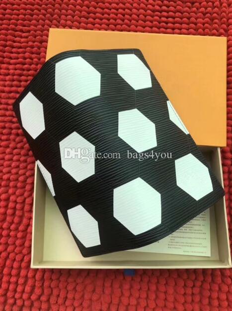 Dünya Kupası Sınırlı Tarzı Yüksek Kalite BRAZZA Cüzdan Katlama ve Fermuar cüzdan futbol desen fermuar bölmesi debriyaj çanta m3294