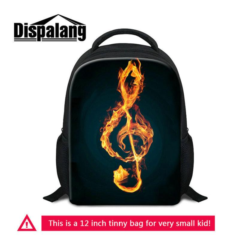 55ca47429a02 12 Inch Mini School Bags Bookbag For Little Boys Girls Musical Note Pattern  Children Casual Backpack Small Mochila Rucksack For Preschoolers Wheeled ...