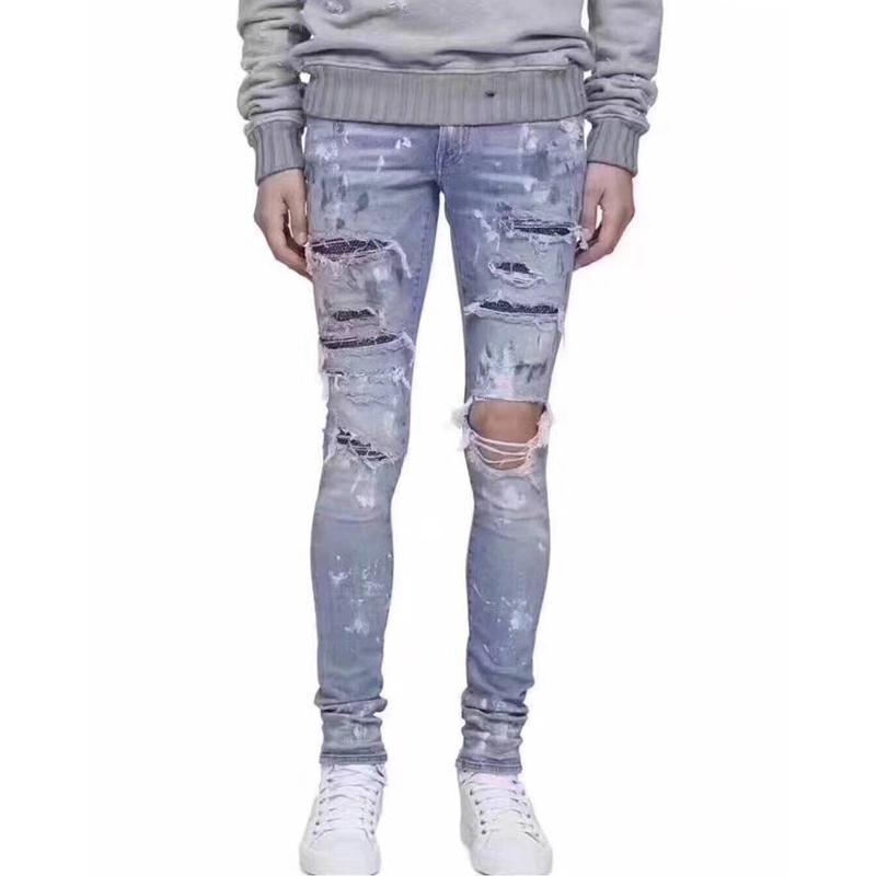 Strass Inchiostro A Acquista Con Jeans Am1r1 Elasticità qn86zw