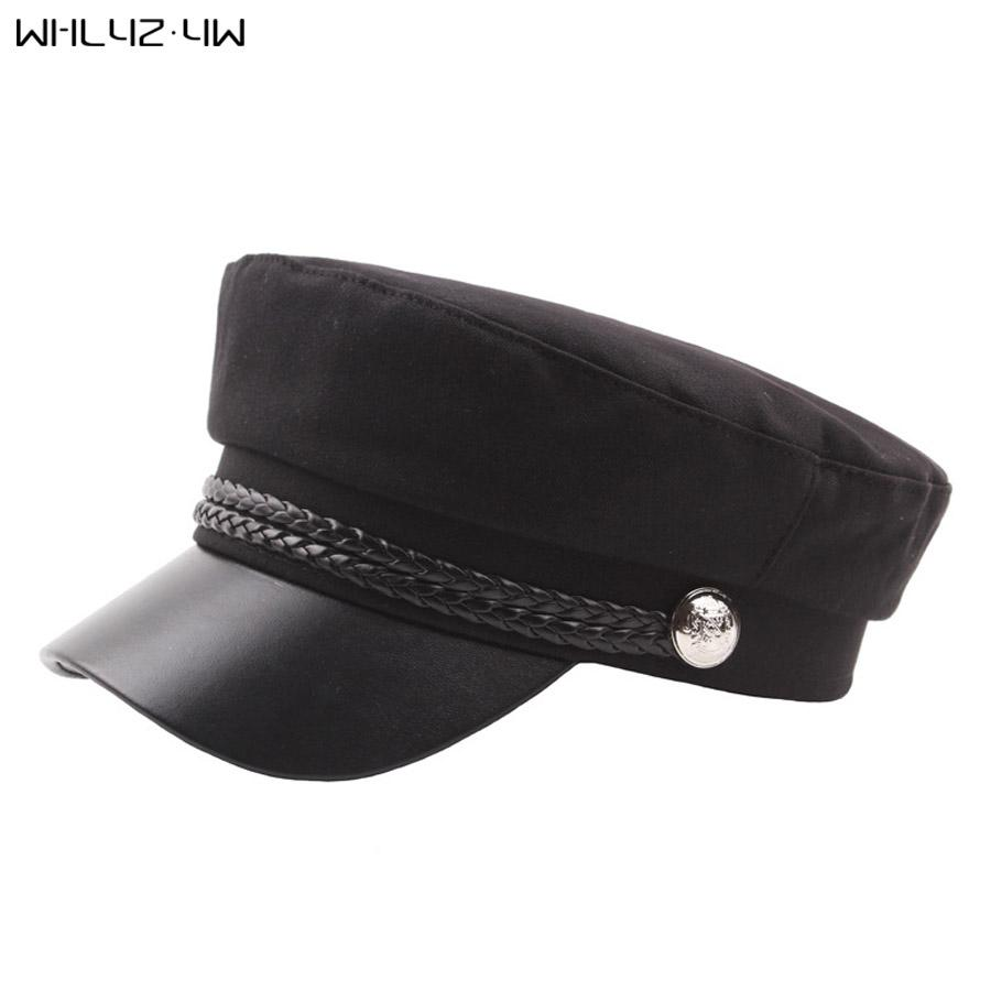 43e86062 2019 Gatsby Hat Female Black Baker Boy Cap Flat Women Elegant Ladies French  Painter Cap Spring Classic Newsboy Caps From Fotiaoqia, $34.88 | DHgate.Com