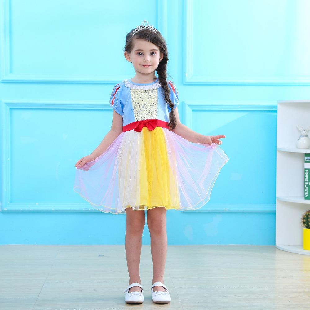 174a06002 Girls Dress Up Snow White Halloween Cosplay Dress For Girls Costume Party  Princess Children'S Tulle Tutu Dresses Group Halloween Costumes For Work  Christmas ...
