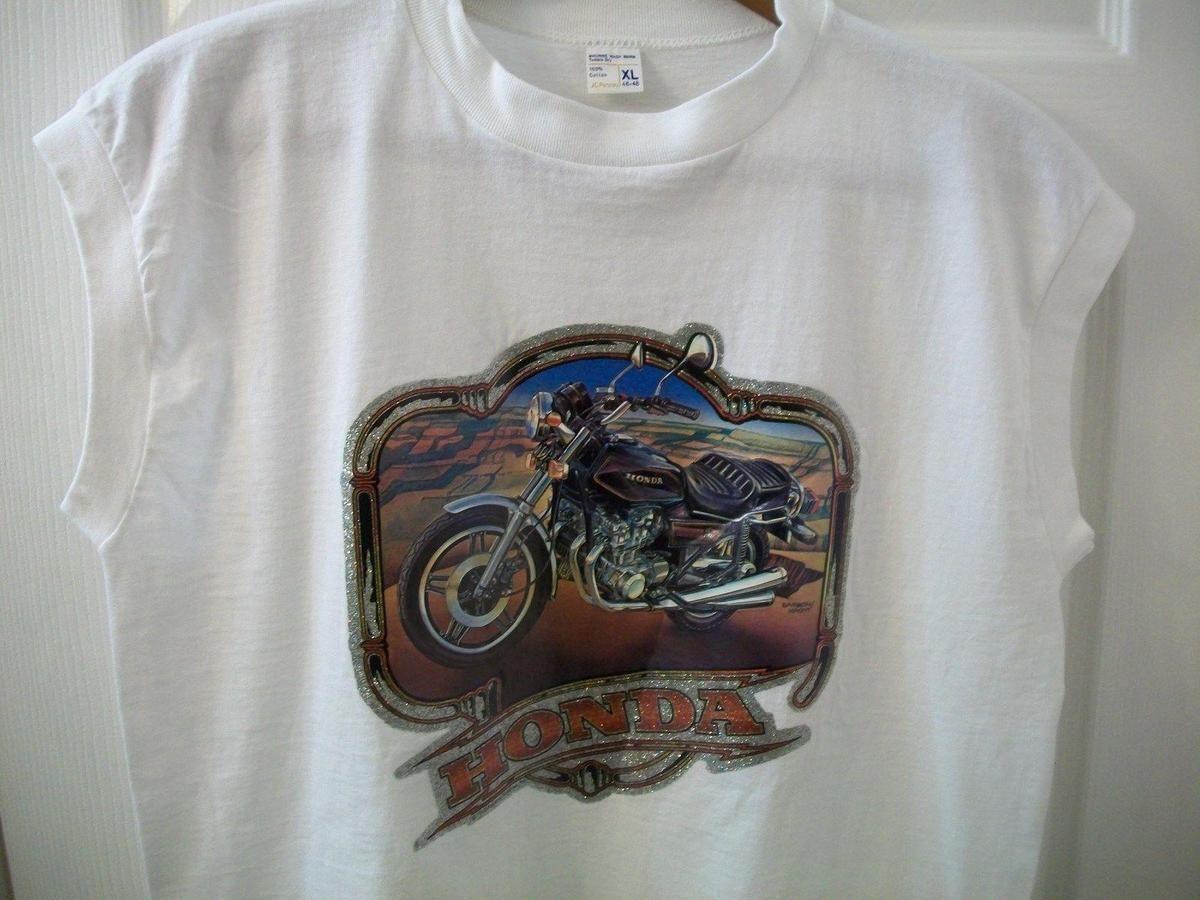 Honda motorcycle vintage tee shirt