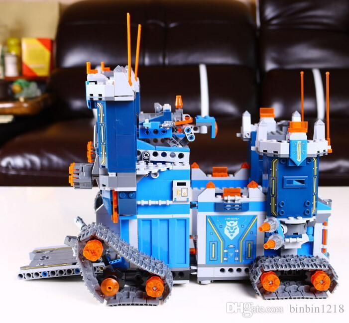 14006 the future elements Knights mechanical movement fortress to spell assembling building block toys