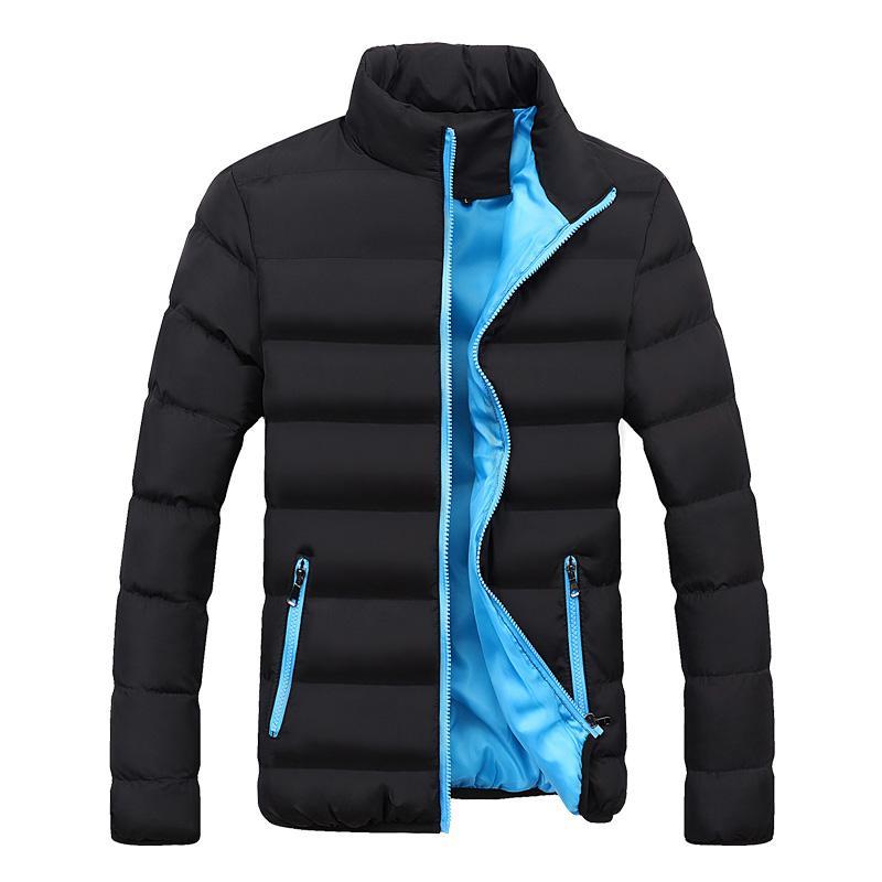 Großhandel Neue Herbst Winter Jacke Männer Marke Kleidung Casual Mantel Mens  Einfarbig Einfache Outwear Baumwolle Gepolsterte Parkas Männlichen  Stehkragen ... f1052bc68f
