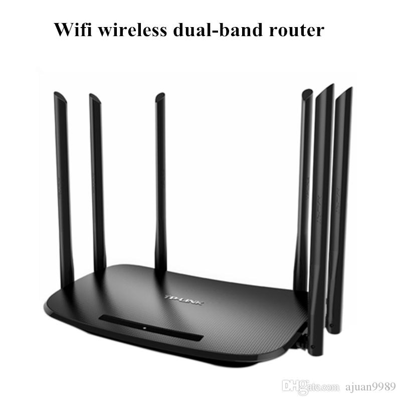 NUOVO TP-LINK WDR7400 1750Mbps 11AC 6 Antenna Router wireless dual-band extender wifi veloce per reti di computer domestici