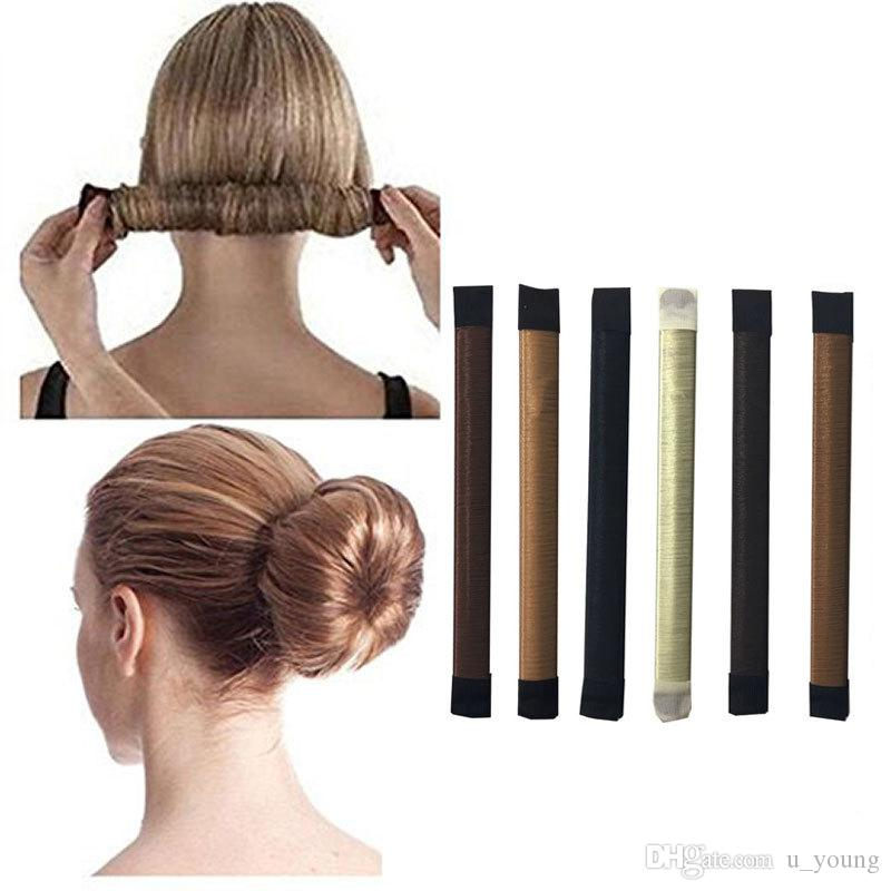 Hair Bun Maker Fashion Diy Magic Bun French Twist Doughnuts Hair