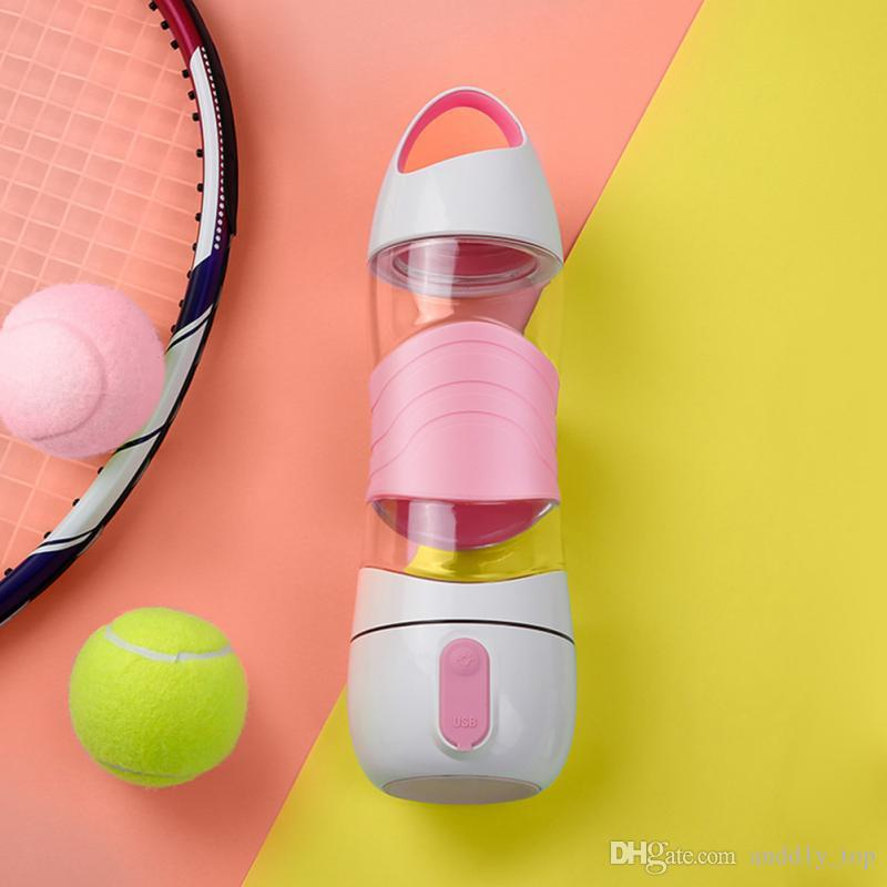Deportes Copa de llenado de agua Luz LED Botellas de agua inteligentes Pistas Consumo de agua Se ilumina Recuerda que te quedes con la noche Luces Sos Taza de emergencia Taza caliente