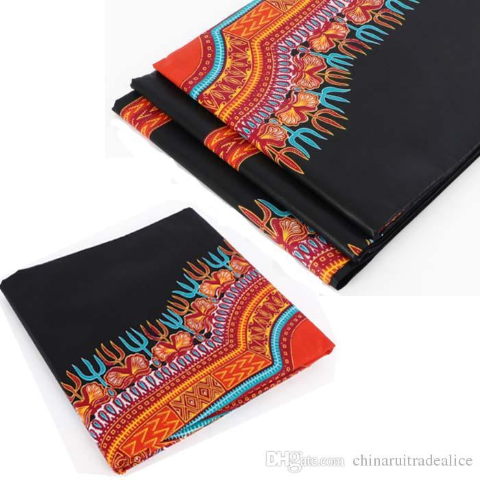 Großhandel Afrikanisches Wachs 100% Baumwolle Stoff Für Kleid Shirt ...