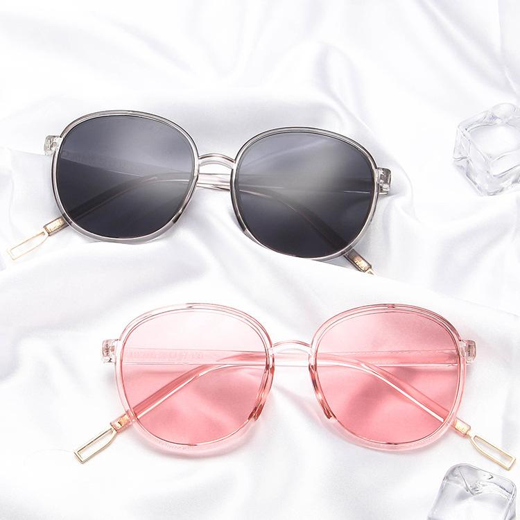 a436ed2bd0 Vintage Round Frame Sunglasses Men Women Brand Designer Eyewear ...
