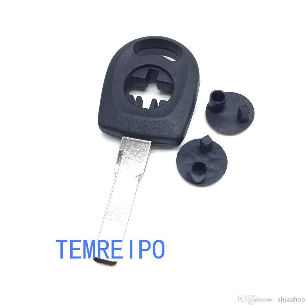 Transponder Car Blank Key Shell para VW POLO BORA PASSAT Tampa de Substituição para Chave