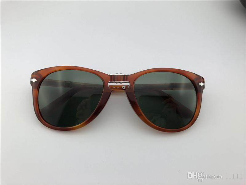 6c613b6df8 ... Persol Sunglasses 714 Series Italian Designer Pliot Classic Style  Glasses Unique Shape Top Quality UV400 Protection ...