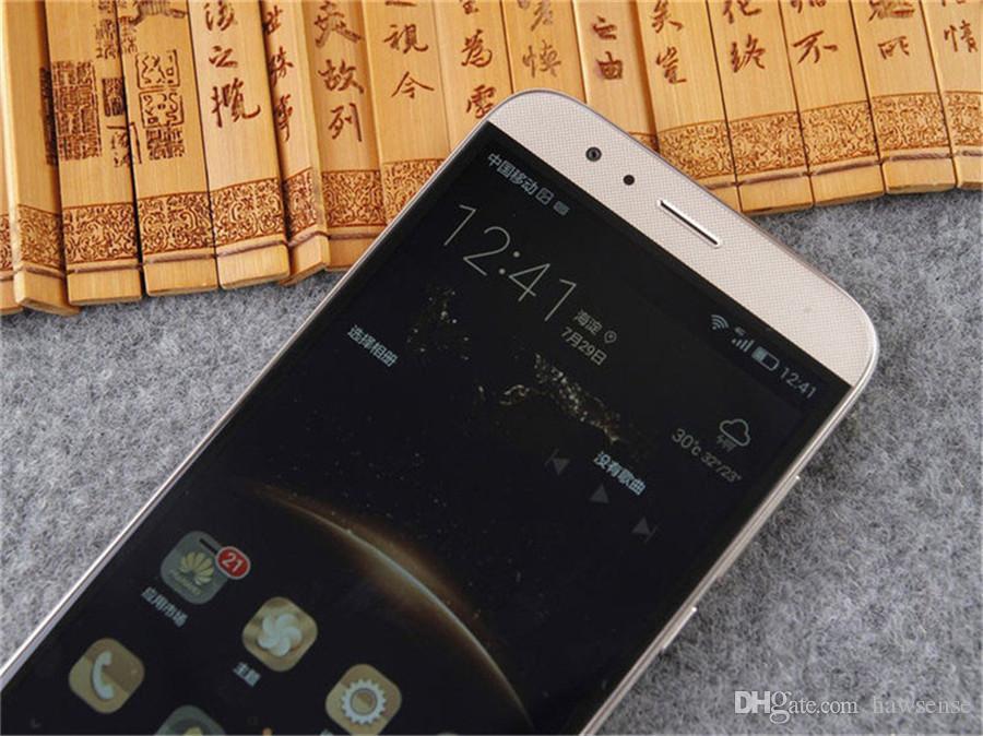 Refurbished Original Huawei G7 Plus 4G LTE 5.5 inch Octa Core 2/3GB RAM 16/32GB ROM 13MP Camera Dual SIM Android Mobile Cellphone DHL
