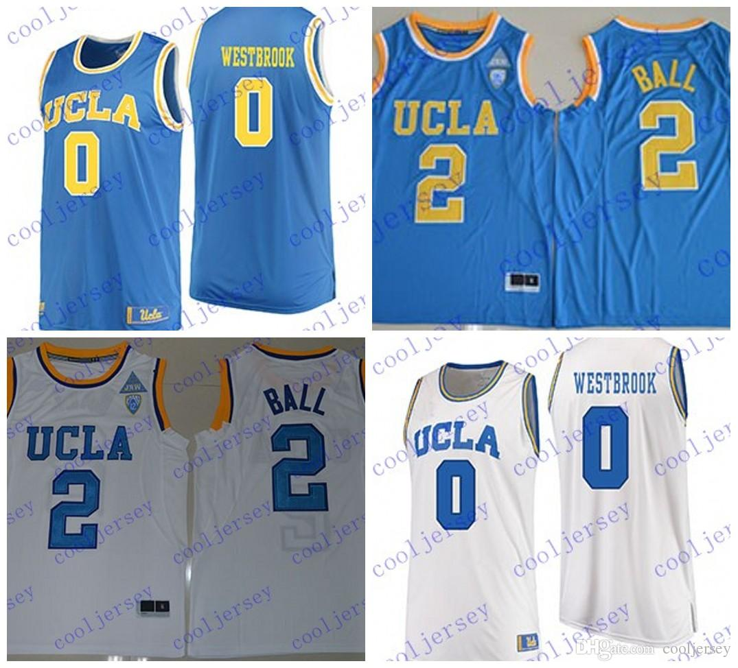 7647a7ec5fa ... greece 2019 men ncaa ucla bruins 2 lonzo ball 0 russell westbrook jersey  stitched college basketball