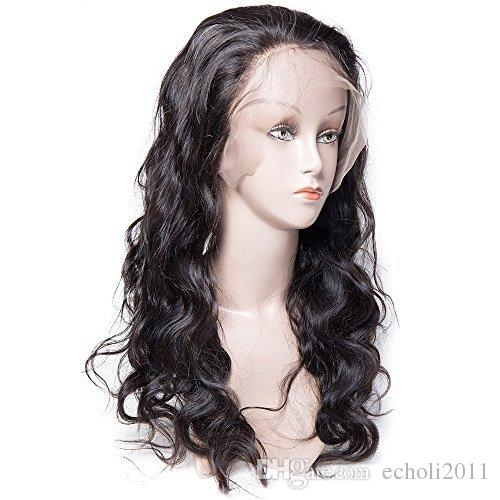 Maxine Adjustable Length 360 Lace Frontal Wigs Brazilian Body Wave Remy Virgin Human Hair Wig for black women Pre Plucked Lace Front wig