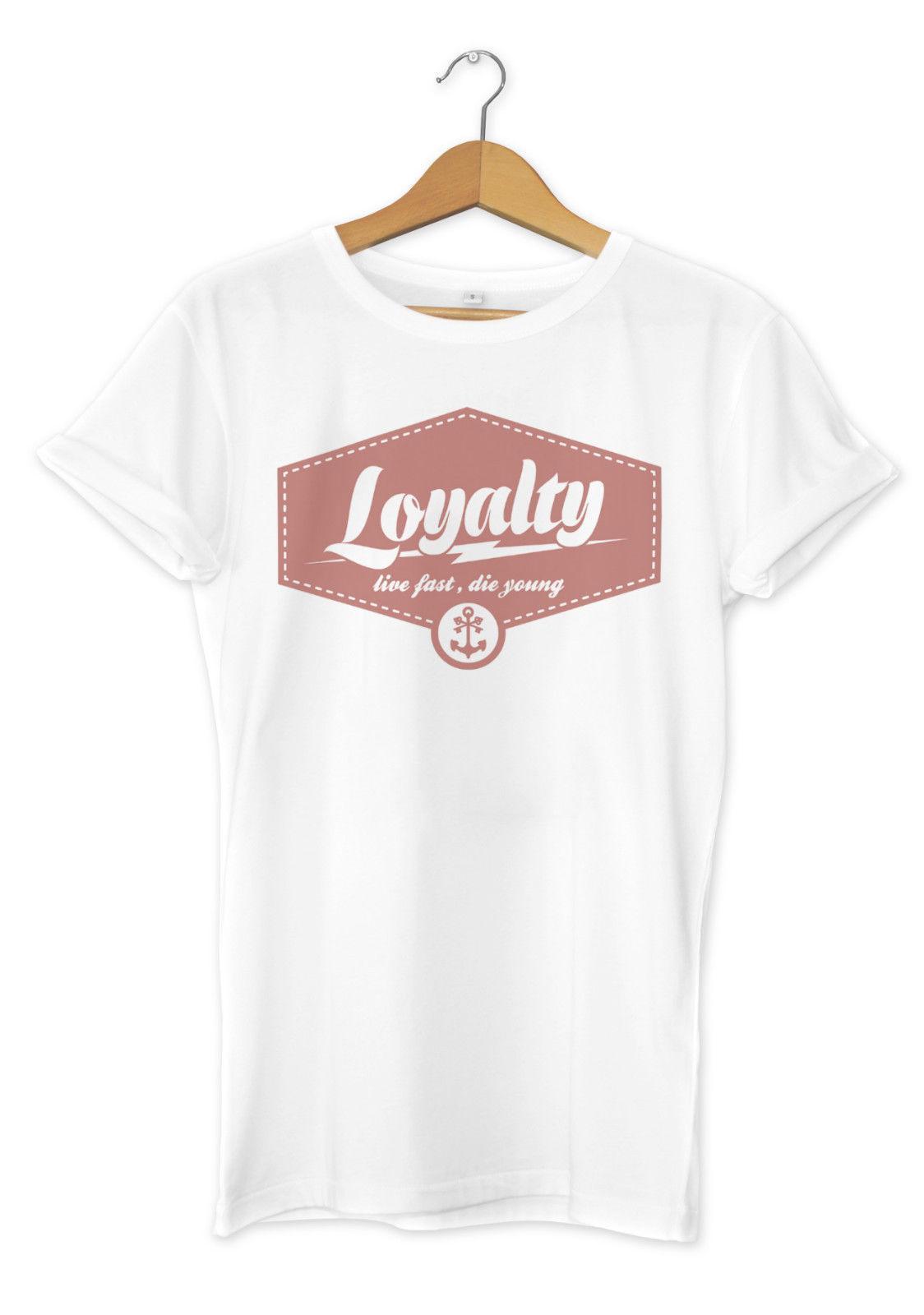 ecaf96fb910 Loyalty Printed T Shirt