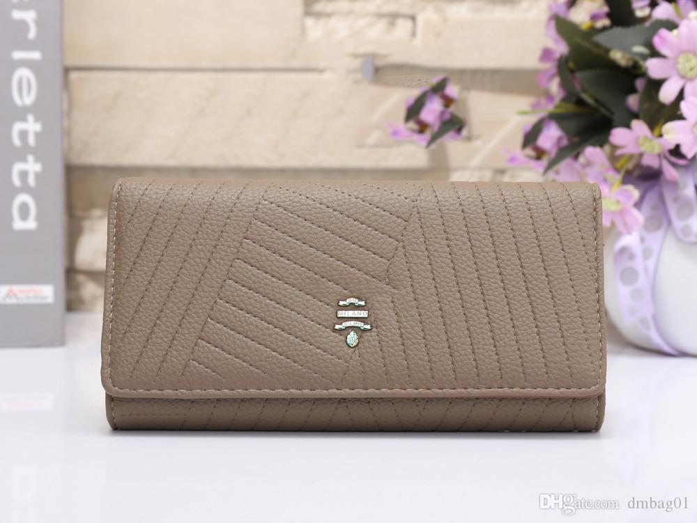 Pink sugao 2018 new style high quality purses wallets pu leather famous brand wallet women luxury wallet men