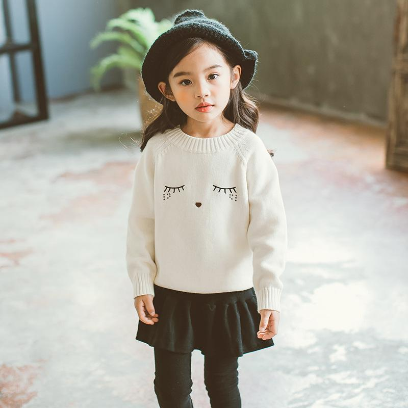 New 2018 Baby Sweaters Kids Cotton Sweaters Children Knit Tops