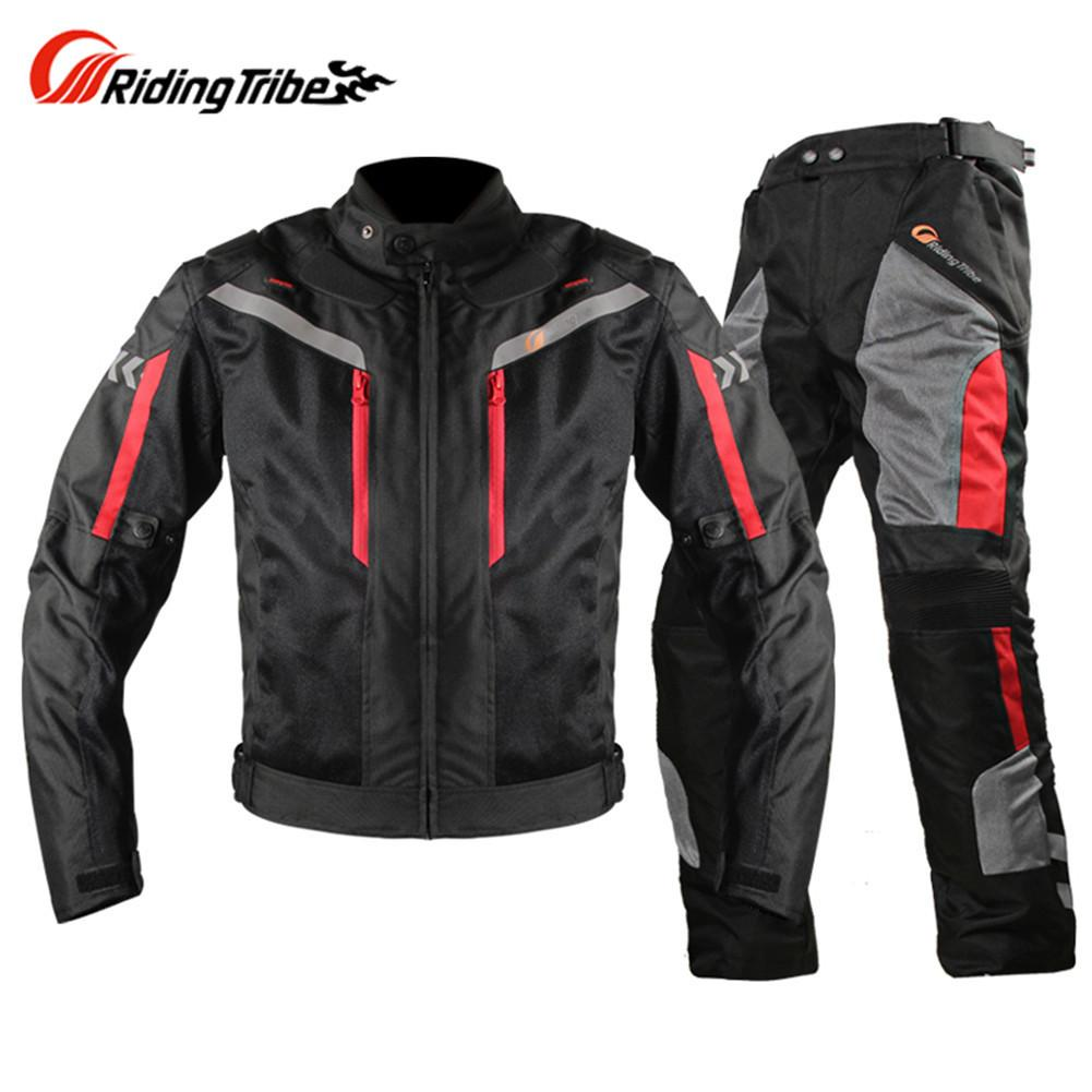 Compre Chaqueta Moto Pantalones Traje Chaqueta Moto Jaqueta Motoqueiro  Blouson Moto JK4011 Protección Engranajes Ropa Armadura Motocicleta A   234.99 Del ... 2d884e2854317
