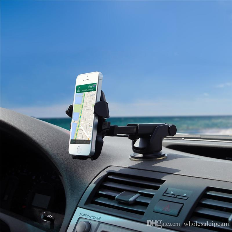 Easy One Touch 2 Car Mount Universal Phone Holder for iPhone X 8/8 Plus Samsung Galaxy S9 S9 Plus S8 Plus With Retail Box & Logo