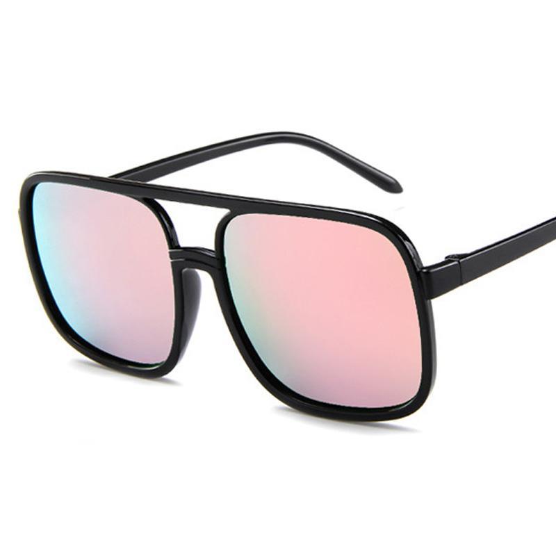 586f008ab5106 2018 New Arrival Flight 006 Style Square Sunglasses Men Women Colorful  Gradient Sun Glasses Oculos De Sol Masculino Cat Eye Sunglasses Round  Sunglasses From ...