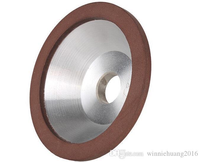 Envío gratis 1 UNIDS A Estrenar 100mm Diamond Grinding Wheel Cup 180 Grit Cutter Grinder Para Carburo Metal