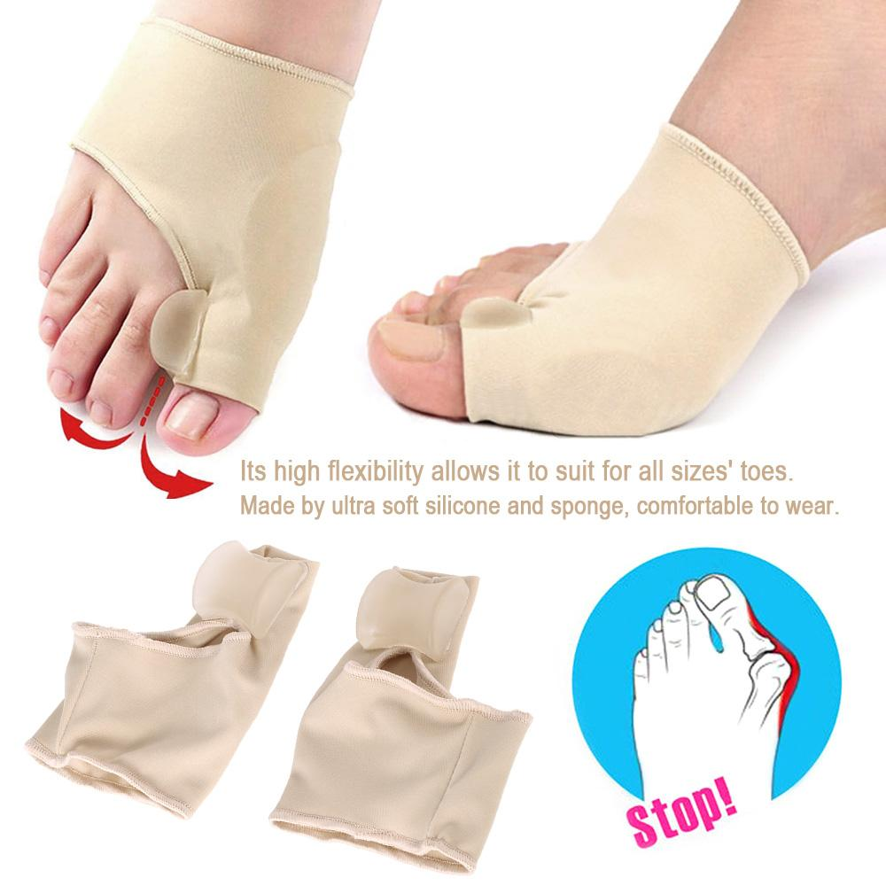 Ultra Soft Big Toe Bunion Splint Straightener Adjuster Separator Hallux Valgus Correction 1pair Silicone Foot Fingers Thumb Protect Corrector Protector Care Tools Makeup Vanity Mirror Sale From