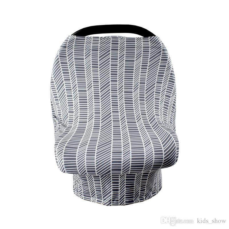 Cubierta del asiento de carro del bebé de es, cubierta elástica del asiento de carro, toldo del bebé del carseat, cubierta de la lactancia de la privacidad