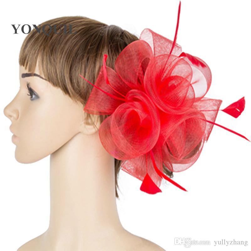 Best Multiple Color Crinoline Fascinator Headwear Colorful Mesh