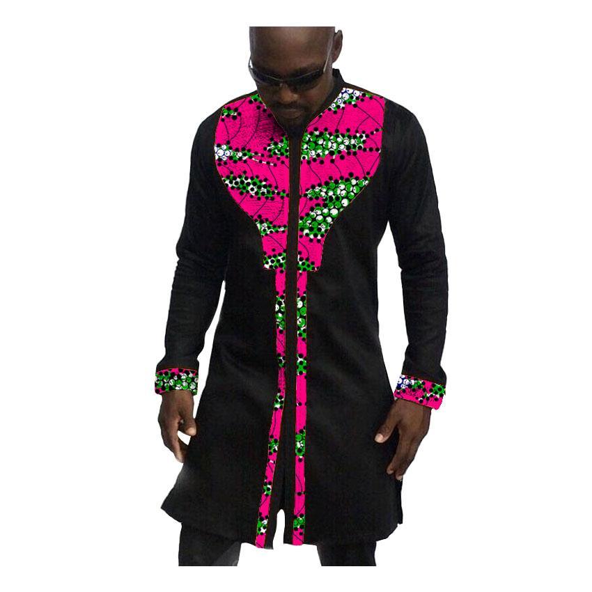 Großhandel Mode Mann Kleid Afrika Afrika Festliche Muster Langarmshirts Männer  Mode Druck Und Schwarze Hemden Afrikanische Kleidung Für Männer Von  Yingluo, ... 2c6deb8c49