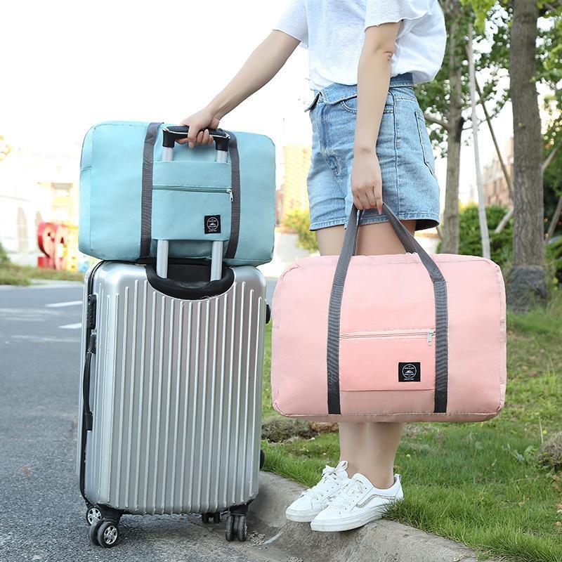 58c15d319933d Großhandel PipiFren Faltbare Reisetaschen Handgepäck Verpackung Cubes  Weekend Große Rosa Tasche Nylon Für Damen Und Herren Große Tasche Bolsa De  Viaje Von ...