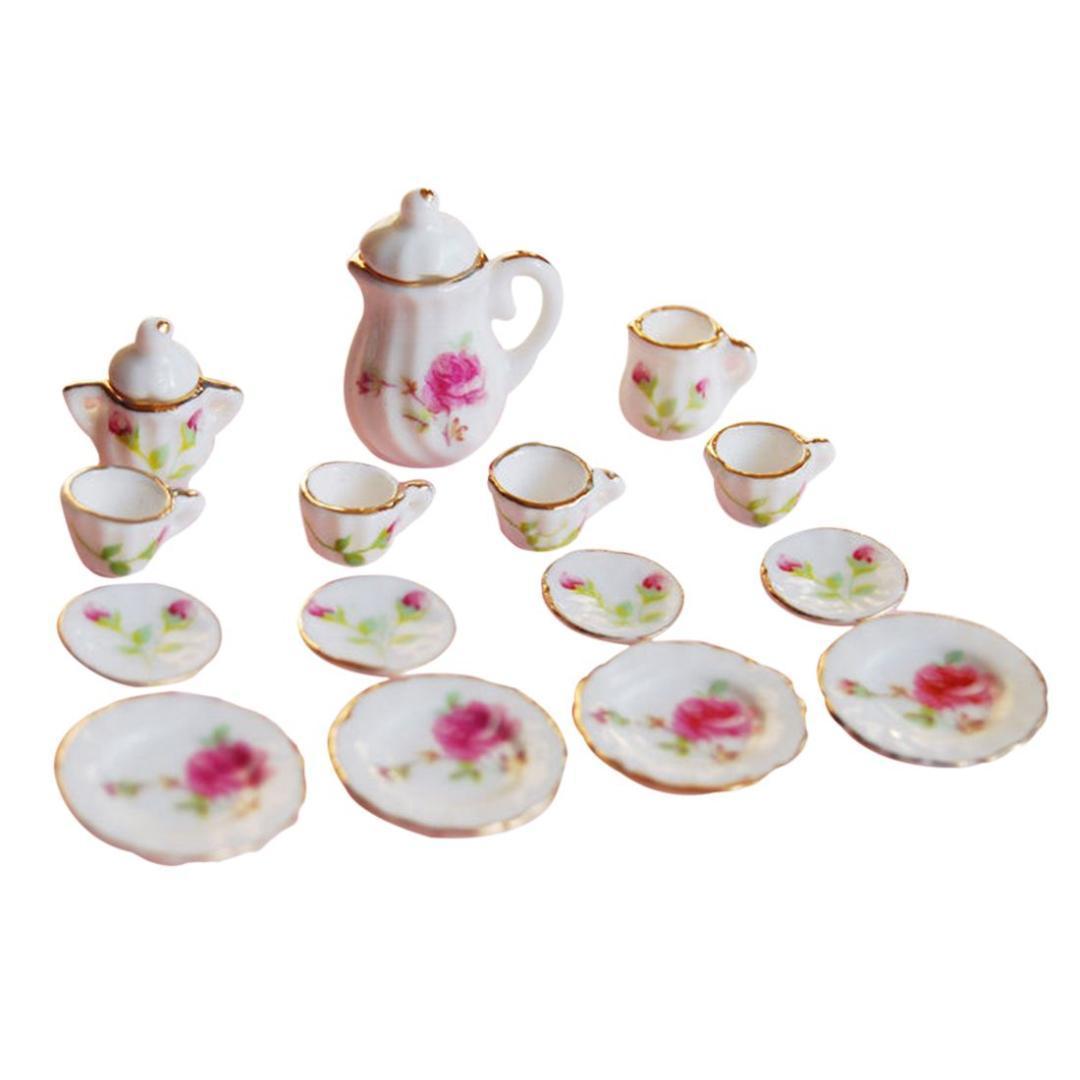 Hot Sale 1 12 Scale Dollhouse Miniatures Porcelain Coffee Cups