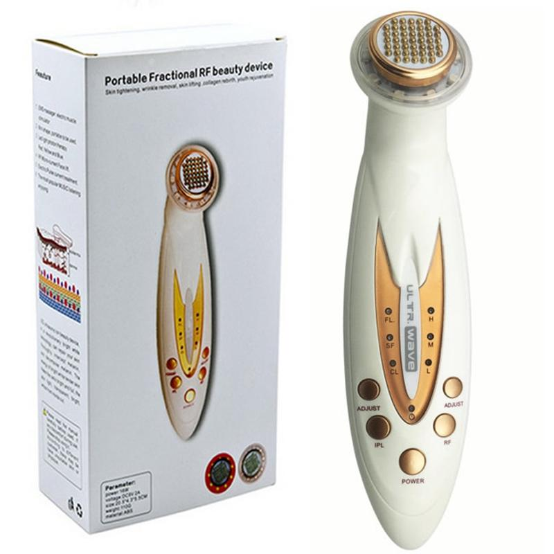 Thermage Lifting Facial Máquina De Belleza Eliminación De Arrugas  Apretamiento De La Piel Cuerpo Masajeador Facial Fotón LED Terapia RF  Radiofrecuencia Por ... 1cbfa29d60f6