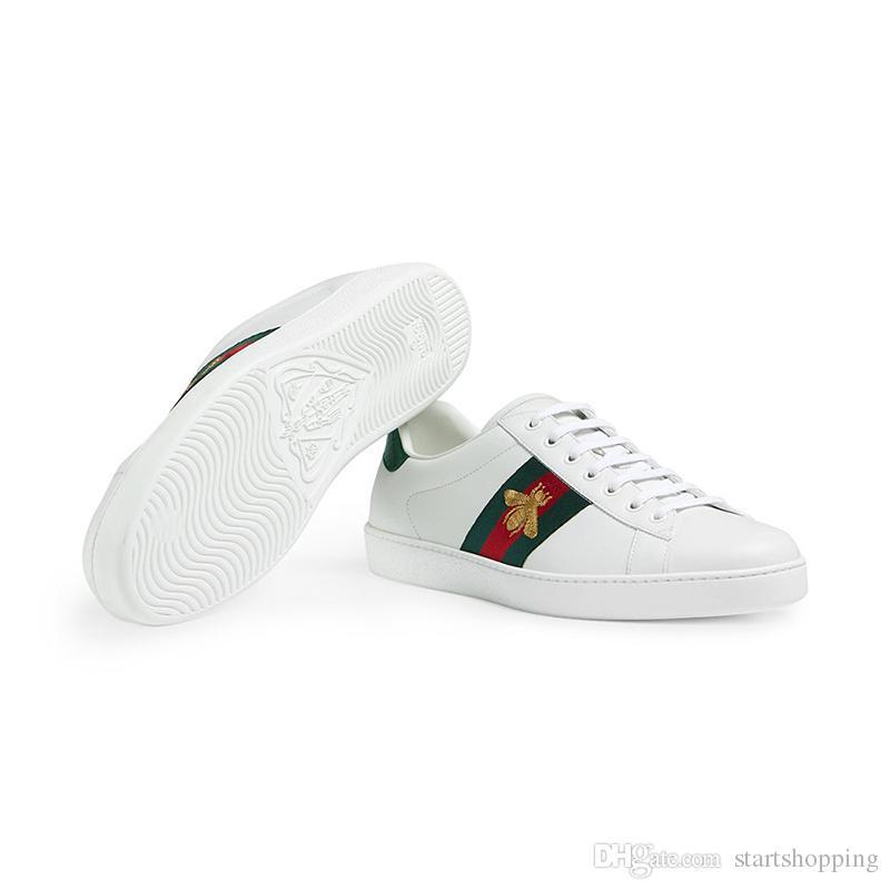 2019 uomo donna vendita scarpe di design blu striscia rossa con la versione di aggiornamento di alta qualità casual asso italiano carino scarpe da
