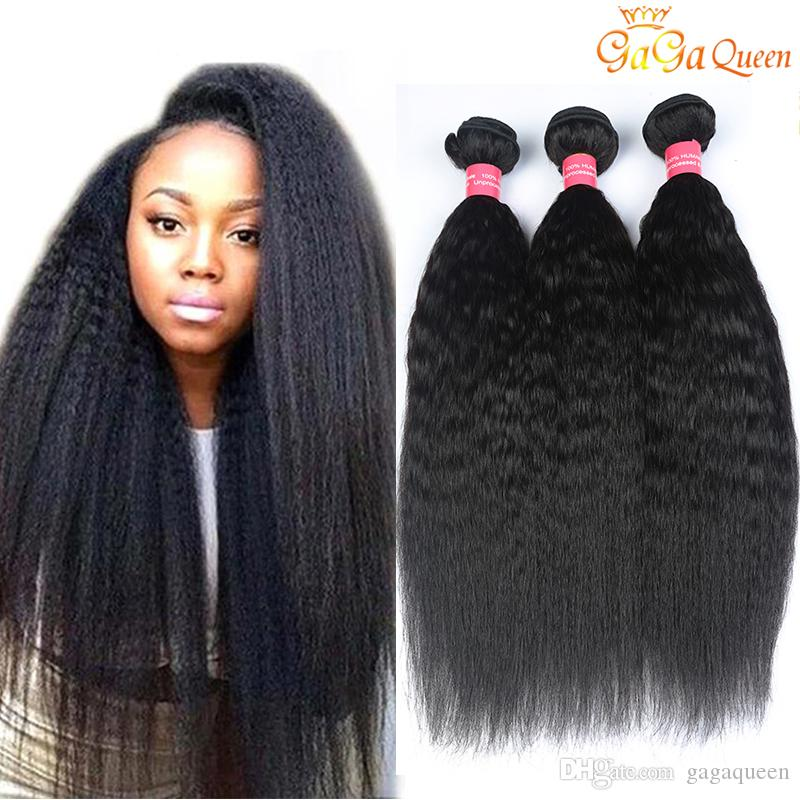 8A Brazilian Kinky Straight Virgin Hair 1