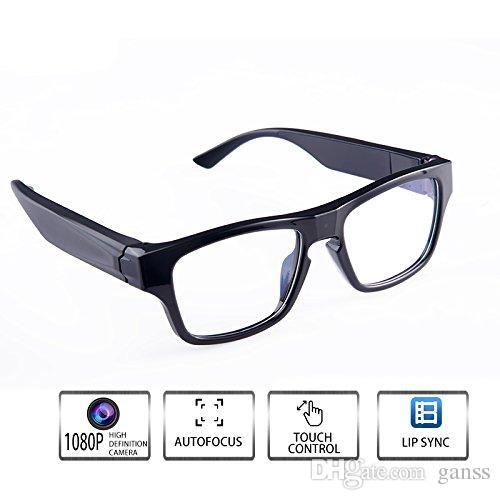933b3103b Compre WIFI Óculos De Vídeo Câmera Inteligente Óculos HD 1080P Touch Free  Suas Mãos Outdoor / Formação / Ensino / Kids / Pets Show Ao Vivo Android /  IOS De ...
