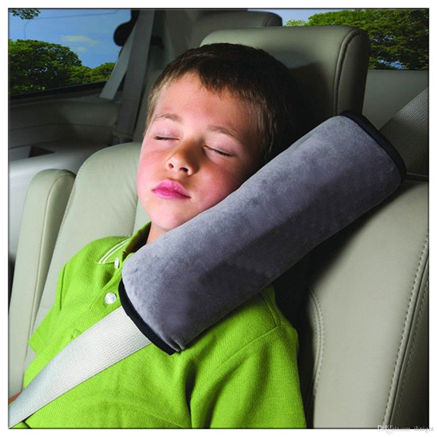 Seatbelt PillowCar Seat Belt Covers For KidsAdjust Vehicle Shoulder PadsSafety Protector CushionPlush Soft Auto Strap Replacement