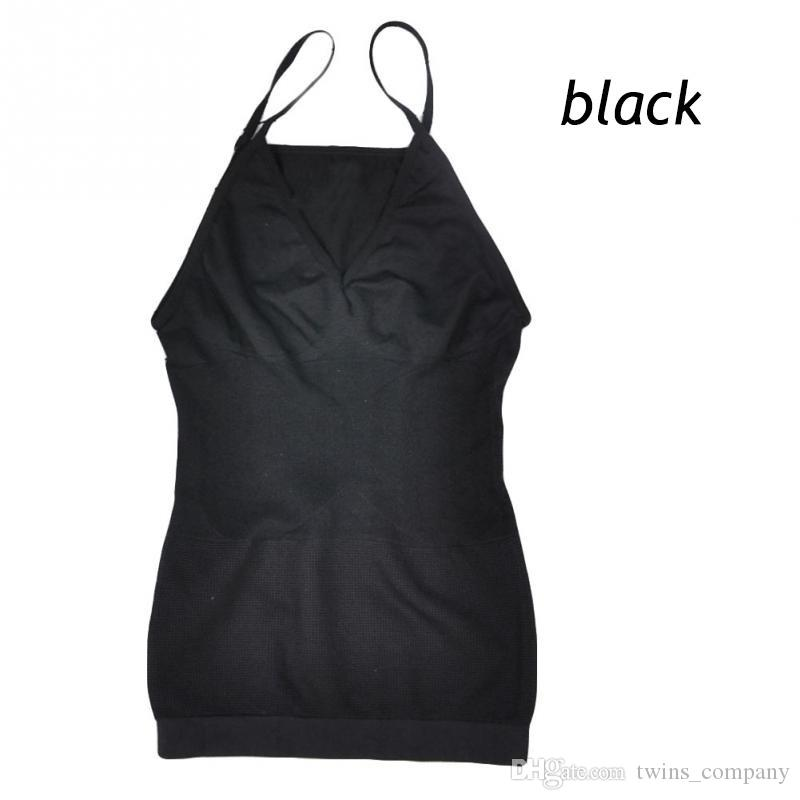FASHION New Women Vest Women Slimming Tank Top Tummy Control Seamless Vest Cami Shaper Body ShapeWear