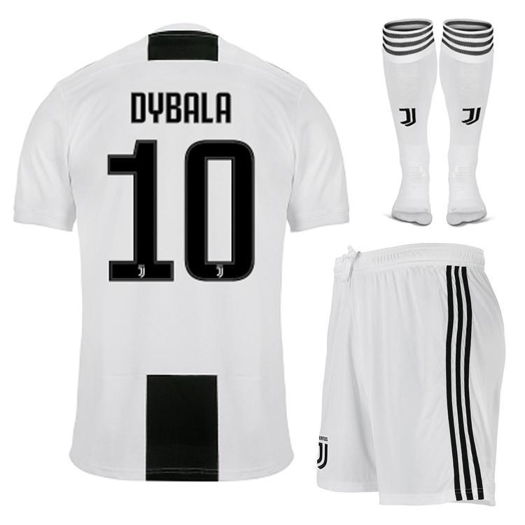 2019 18 19 DYBALA Soccer Sets Men JUVENTUS Football Uniform Kits Full Set +  Socks RONALDO Maillot De Foot MARCHISIO Champions League Jerseys From  Bintuoshi b49859729
