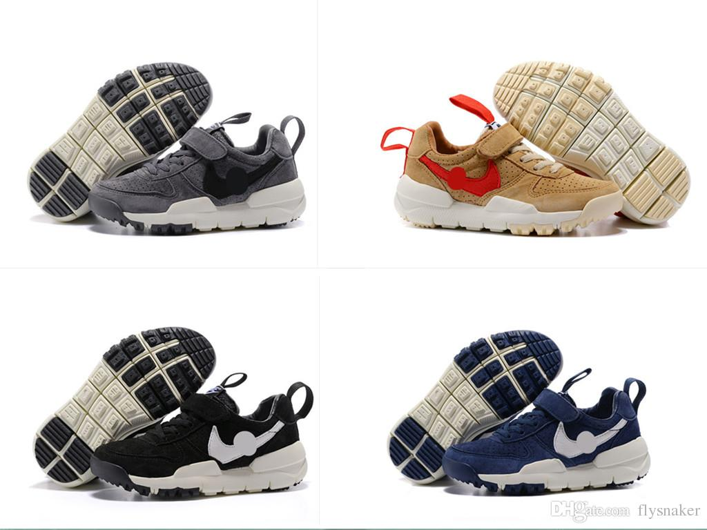 6232cec0a5ce Tom Sachs X Craft Mars Yard 2.0 TS NASA Kids Sneaker Boys Girls Gift  Children Sport Red Maple Running Shoes 11Y 3C Childrens Shoes Online Kids  Walking Shoes ...