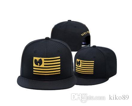 97a450a52b7b7 2018 New Wu Tang Snapback Hat Wutang Baseball Cap Wu Tang Clan Bone Gorras  Embroidered Hats Leather Hats From Kiko89