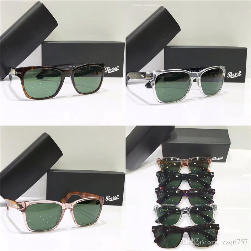 5e5b5e53e3 Retro Persol Classic Sunglasses PE 2 Series Italian Designer Style ...