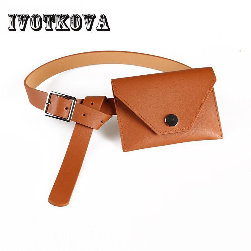 5ed6f86f7e7b IVOTKOVA IVOTKOVA New Arrival Waist Bag for Lady Pu Leather Women ...