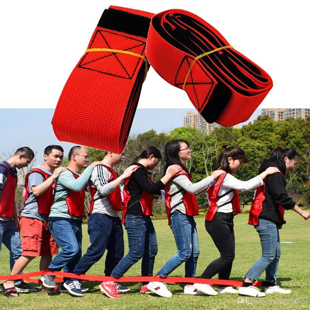 gro handel 4 legged race bands party spiele cooperation bands party outdoor spiele walker tie. Black Bedroom Furniture Sets. Home Design Ideas
