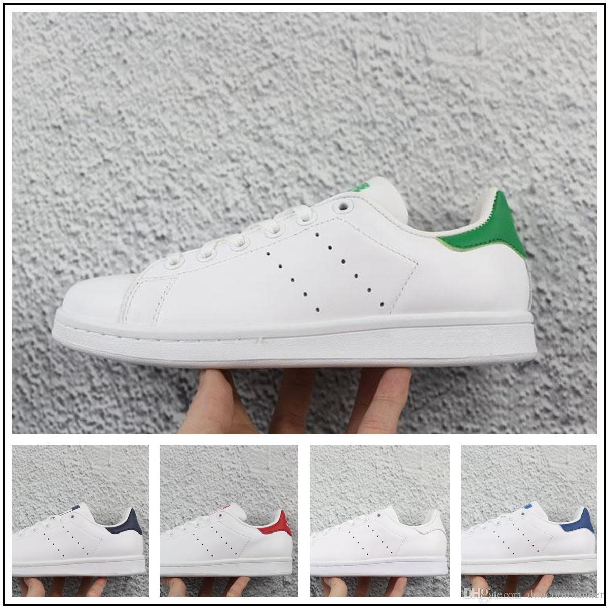 Adidas Superstar Hommes Femmes Primeknit X 2018 Nouvelle Arrivée Pharrell Casual Hu Smith Tennis Chaussures Williams Stan cFJK1l