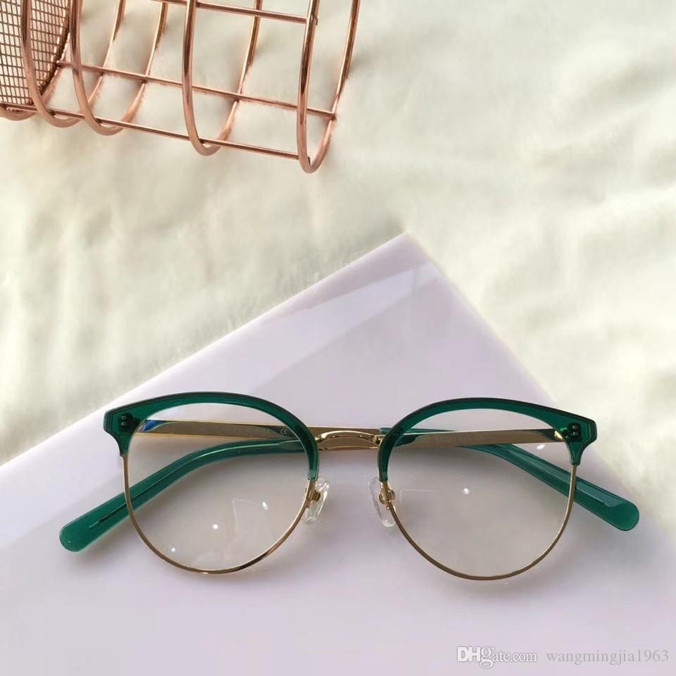 ec58be5a3131 2019 New Eyeglasses Frame Women Men Brand Designer Eyeglass Frames Designer  Brand Eyeglasses Frame Clear Lens Glasses Frame Oculos 3387 With Case From  ...
